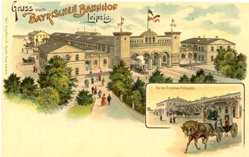 Bildquelle: Wikipedia / Buchh. Ernst August Dittrich - Stadtgeschichtliches Museum Leipzig